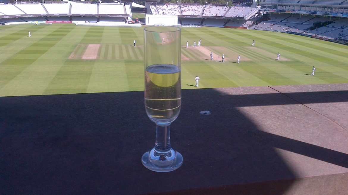 Fizz at Lord's