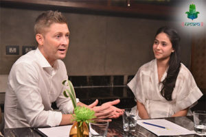 Michael Clarke talks nutrition
